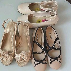 Cupcake Couture, Stevies & Rachael Girls Shoe Lot